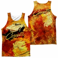 Chevy Tank Top Painted Stingray Sublimation Tanktop Front/Back Print