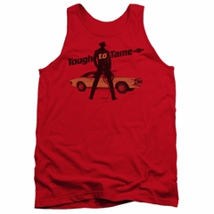 Chevy Tank Top Tough To Tame Red Tanktop