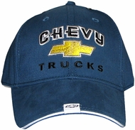Chevy Truck Hat - Gold Bowtie Embroidered Cap