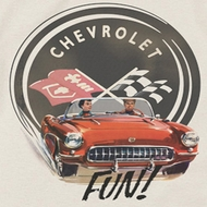 Chevy Vette Fun Shirts