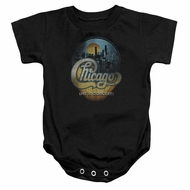 Chicago Baby Romper Live Black Infant Babies Creeper