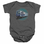 Chicago Baby Romper The Rail Charcoal Infant Babies Creeper