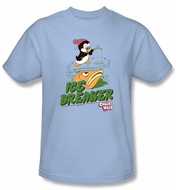 Chilly Willy Kids T-shirt TV Show Ice Breaker Light Blue Shirt Youth