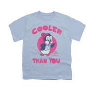 Chilly Willy Shirt Kids Cooler Light Blue Youth Tee T-Shirt