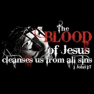 Christian T-shirt - The Blood of Jesus Tee Shirt