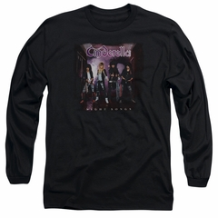 Cinderella Shirt Night Songs Long Sleeve Black Tee T-Shirt