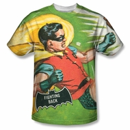 Classic Batman Shirt Fighting Back Sublimation Shirt