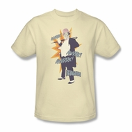 Classic Batman Shirt Penguin Cream T-Shirt