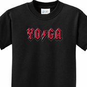 Classic Rock Yoga Kids Yoga Shirts
