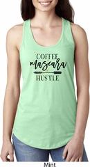 Coffee Mascara Hustle Ladies Ideal Tank Top