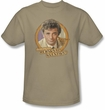 Columbo T-shirt TV Show Question Adult Sand Color Tee