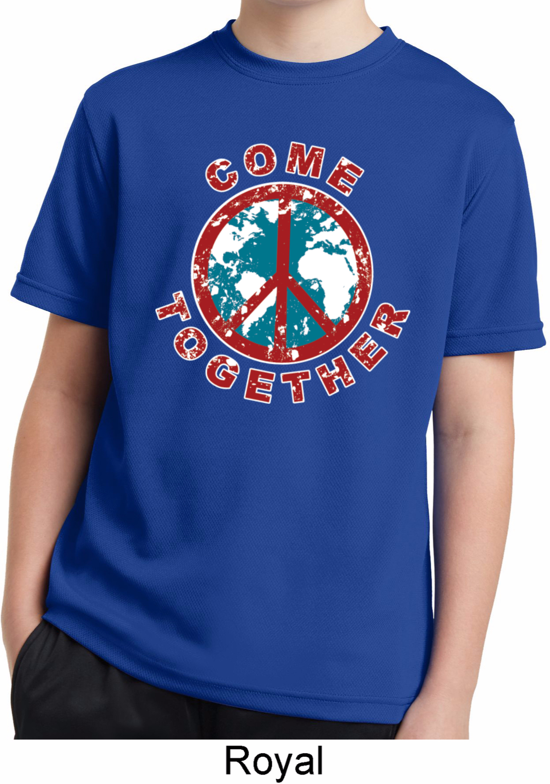 Come Together Kids Moisture Wicking Shirt Come Together