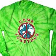 Come Together Long Sleeve Tie Dye Shirt