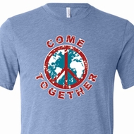 Come Together Mens Tri Blend Crewneck Shirt