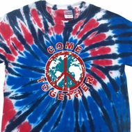 Come Together Patriotic Tie Dye Shirt