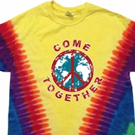 Come Together Premium Tie Dye Shirt