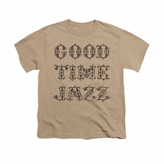 Concord Music Group Shirt Kids Retro Good Times Sand T-Shirt