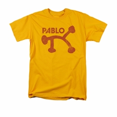 Concord Music Group Shirt Pablo Distressed Gold T-Shirt