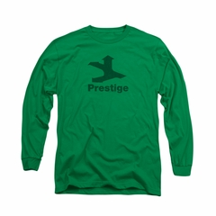 Concord Music Group Shirt Prestige Long Sleeve Kelly Green Tee T-Shirt