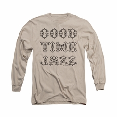 Concord Music Group Shirt Retro Good Times Long Sleeve Sand Tee T-Shirt