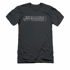 Concord Music Group Shirt Slim Fit Riverside Charcoal T-Shirt