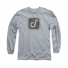 Concord Music Group Shirt Symbol Long Sleeve Athletic Heather Tee T-Shirt