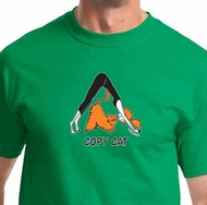 Copy Cat Mens Yoga Shirts