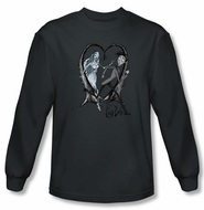 Corpse Bride Long Sleeve T-Shirt Warner Bros Runaway Groom Shirt
