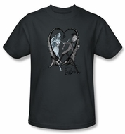 Corpse Bride T-Shirt Warner Bros Runaway Groom Charcoal Tee Shirt
