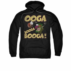Courage The Cowardly Dog Hoodie Sweatshirt Ooga Booga Booga Black Adult Hoody Sweat Shirt