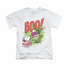 Courage The Cowardly Dog Shirt Kids Stupid Dog White Youth Tee T-Shirt