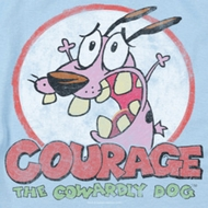 Courage The Cowardly Dog Vintage Courage Shirts