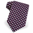 Court Case Tie Navy Blue Silk Necktie - Mens Occupational Neck Tie