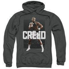 Creed Hoodie Adonis Johnson Final Round Charcoal Sweatshirt Hoody
