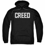 Creed Hoodie Cracked Logo Poster Black Sweatshirt Hoody