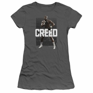 Creed Juniors Shirt Adonis Johnson Final Round Charcoal T-Shirt