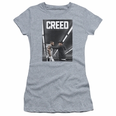 Creed Juniors Shirt Movie Poster Athletic Heather T-Shirt