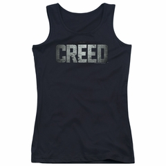 Creed Juniors Tank Top Logo Black Tanktop