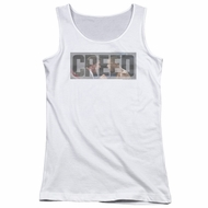 Creed Juniors Tank Top Pep Talk White Tanktop