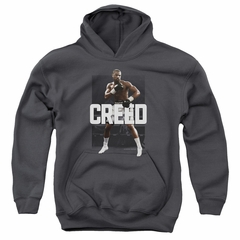 Creed Kids Hoodie Adonis Johnson Final Round Charcoal Youth Hoody
