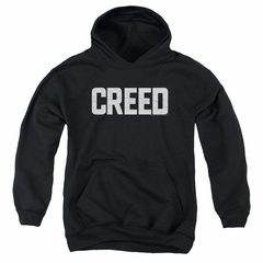 Creed Kids Hoodie Cracked Logo Poster Black Youth Hoody