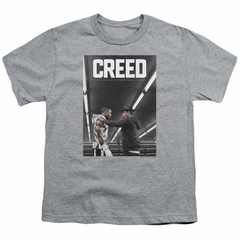 Creed Kids Shirt Movie Poster Athletic Heather T-Shirt
