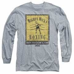 Creed Long Sleeve Shirt Micks Poster Athletic Heather Tee T-Shirt