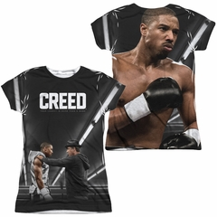 Creed Poster Sublimation Juniors Shirt Front/Back Print
