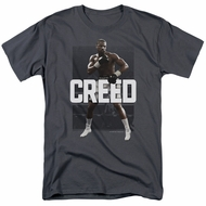 Creed Shirt Adonis Johnson Final Round Charcoal T-Shirt