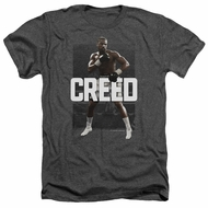 Creed Shirt Adonis Johnson Final Round Heather Charcoal T-Shirt