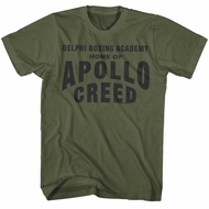 Creed Shirt Apollo Creed Military Green T-Shirt