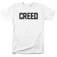 Creed Shirt Cracked Logo White T-Shirt