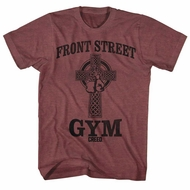 Creed Shirt Front Street  Maroon T-Shirt