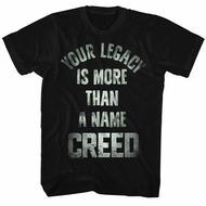 Creed Shirt More Than A Name Black T-Shirt